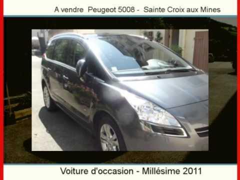 Achat Vente Une Peugeot 5008  Sainte Croix Aux Mines
