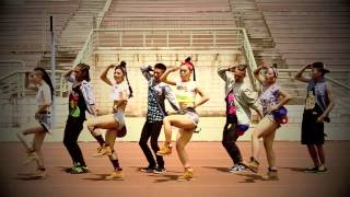 "Dangsters Dance Crew - ""Bubble Up"" - Reggae/Dancehall (choreo by Pendy & Lil"