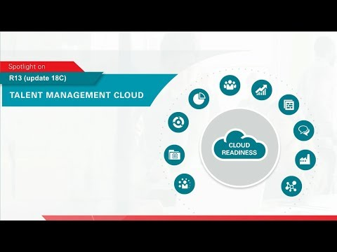 Oracle Applications R13 (update 18C) Spotlight on Talent Management Cloud
