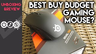 unboxing & Review Steelseries Rival 100 Dota  2 - MOUSE IMBA UNTUK DOTA 2 PLAYER