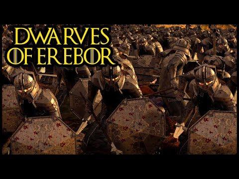 Rise Dwarves of Erebor - Siege To The Death - Rise Of Mordor total War