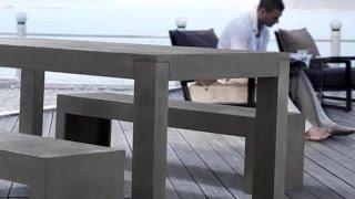 производство мебели из бетона: просто, дешево, надежно
