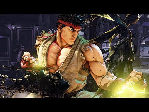 STREET FIGHTER 5 Arcade Edition New V-Trigger 2 Showcase (2018)