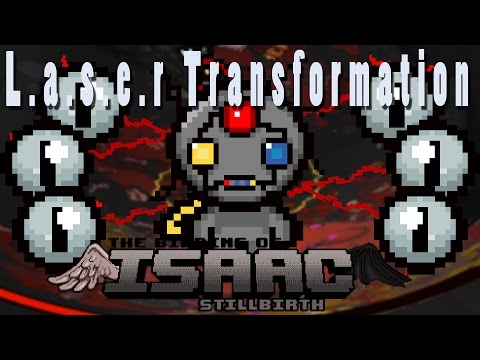 The Binding of Isaac Afterbirth Plus | L.a.s.e.r Transformation! | Modded Spotlight!