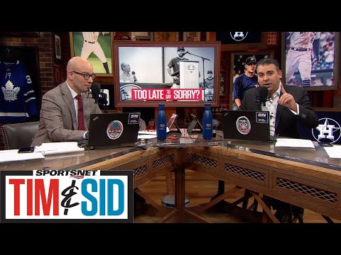 Sid Puts The Astros On Blast Following News Conference | Tim and Sid
