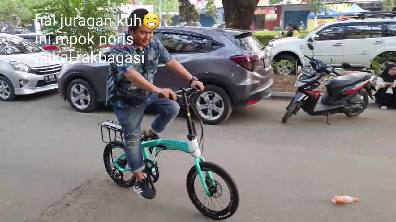 Pacific Noris 2 0 3 0 Bisa Pakai Rack Bagasi Rack Pannier Boncengan Youtube