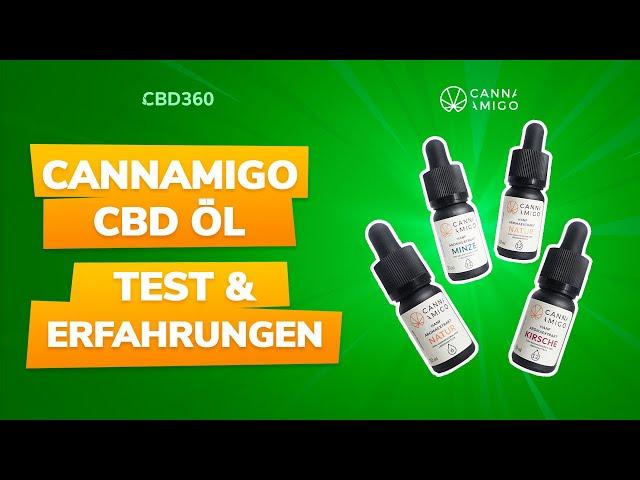 Cannamigo CBD Öl Test & Erfahrungen | Das beste CBD Öl mit Minz-Geschmack!