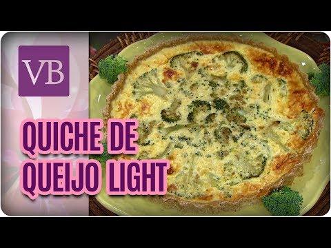 Receita de Manteiga Ghee + Quiche de Queijo Com Brócolis Light - Você Bonita (10/08/17)