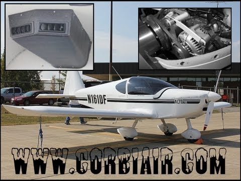 lightsport aircraft air conditioning unit from corbi air for light