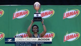 2021 College Basketball Men's 3-Point Championship Highlights