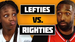 """Are Left-Handed Basketball Players Better Than Right-Handed?   Destiny """"Ky'She"""" Lunan Interview"""