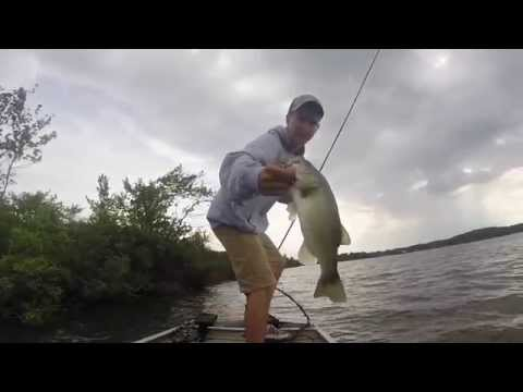 How To Find Bass In New Lakes - Bass Fishing BUDD LAKE NEW JERSEY