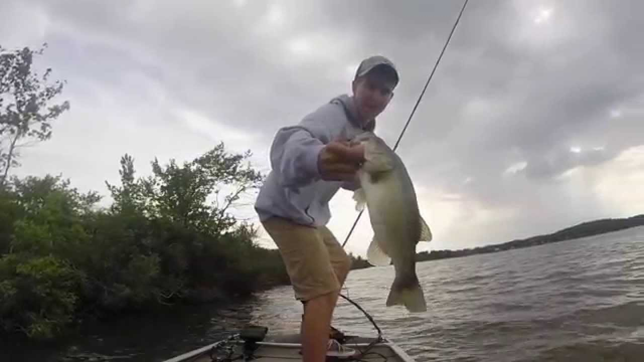 How To Find Bass In New Lakes Bass Fishing Budd Lake New