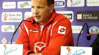 Video Fiorentinanews.com: La gaffe di Mihajlovic in conferenza stampa