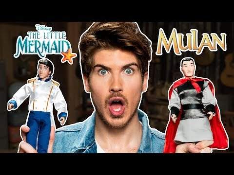 Unboxing Prince Dolls w/ Joey Graceffa