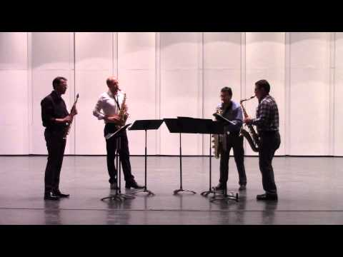 "PRISM Quartet performs ""Lu"" by Tim Ries"
