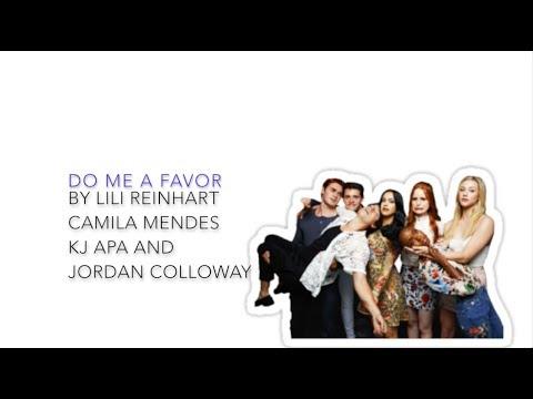 Riverdale Cast 2x18 - Do Me A Favor (lyrics)