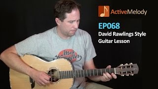 David Rawlings Style Lead Guitar Lesson - EP068
