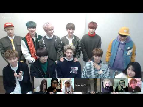 M COUNTDOWN Hangout Chat with UP10TION