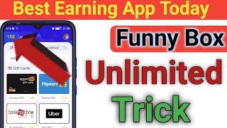FunnyBox App Se Paise Kaise Kamaye | Funny Box App Unlimited Trick | Best Earning App Today screenshot 5