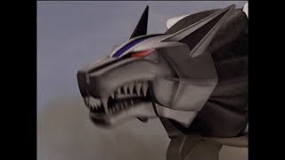 Power Rangers Wild Force - Zen-aku Summons The Dark Wild Zords