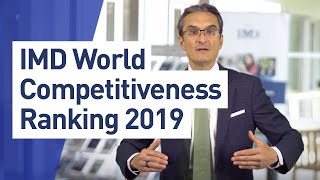 The IMD World Competitiveness Center releases its 2019 World Competitiveness results