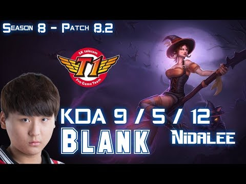 SKT T1 Blank NIDALEE vs UDYR Jungle