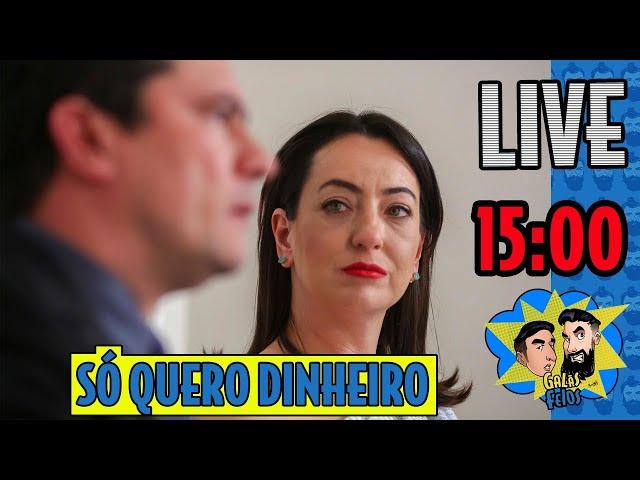 LIVE: Conja fica feliz que o marido arranjou salário de 130 mil | Galãs Feios