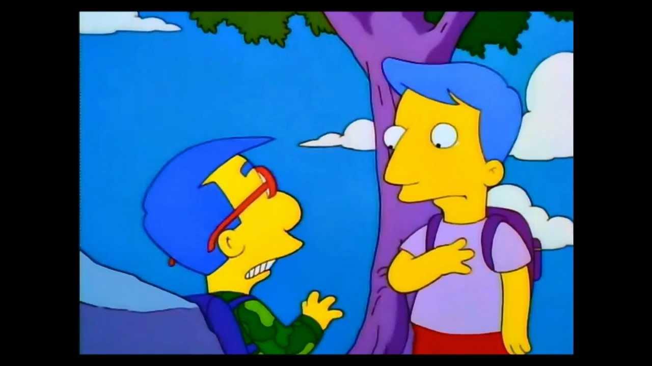 Milhouse meets milhouse youtube - Bart et milhouse ...