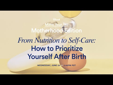 8 Useful Services and products for Postpartum Self-Care