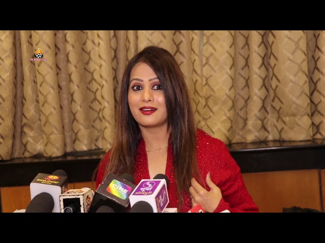 संगीता तिवारी Muhurat Of 3 Film ''Kab Hoye Milanwa Hamar, Bhojpuriya Don 2, Ghazab Bhayyo Rama''