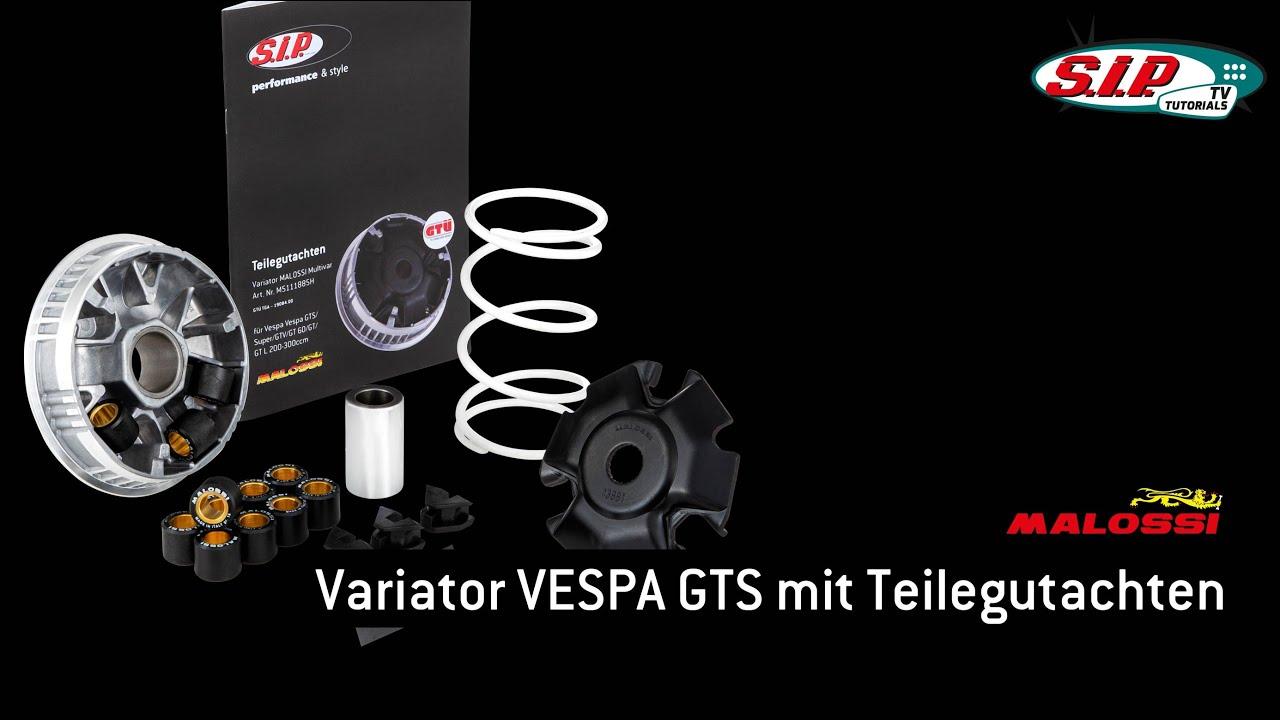 Vespa GTS 300ie Super Sport Malossi Multivar 2000 Variator Kit