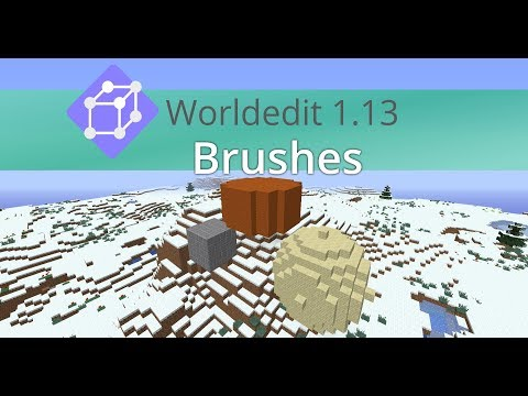 how to remove a brush worldedit