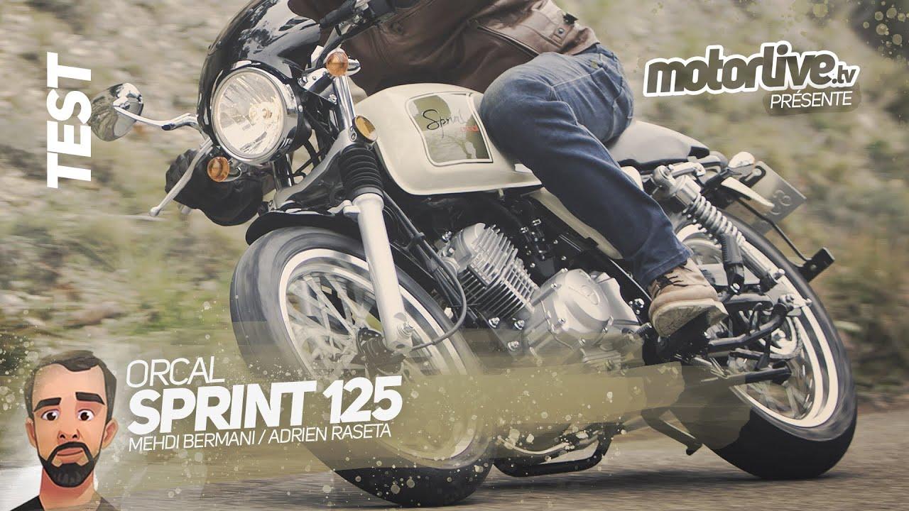 Orcal Sprint 125 Test Motorlive