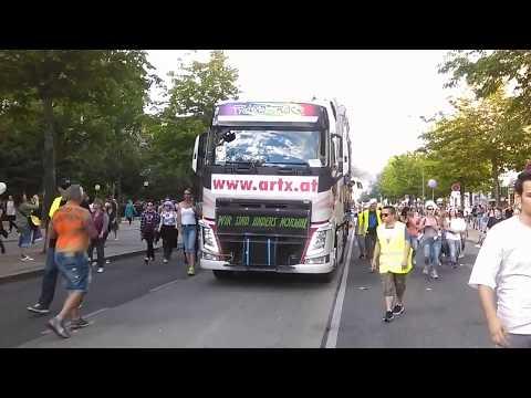 Transtruck - Regenbogenparade 2016 Vienna - Part 2