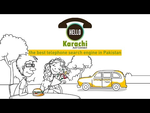 Hello Karachi - Whiteboard Animation I Telephone Search Engine Video