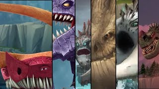 How To Train Your Dragon - All Legendary Dragons Cutscenes so far