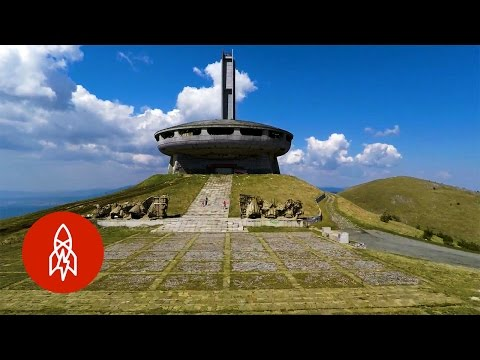 These Bulgarian Mountain Ruins Signify a Soviet Bloc Past