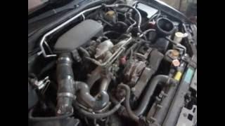 Subaru Impreza замена масла в двигателе и АКПП.