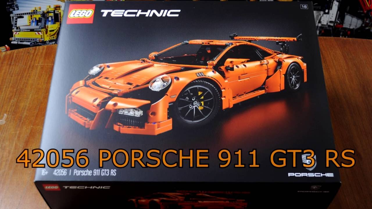42056 Technic LEGO Porsche 911 GT3 RS Time-lapse Build ...