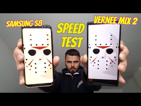 Vernee Mix 2 vs Samsung S8 Speed test/Gaming/Comparison/Screen/Display ($170 vs $650)