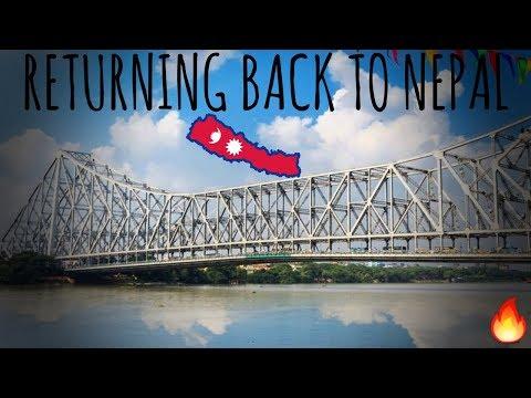 Travelling Back to Nepal from Kolkata   Episode 5   The City of Joy   Manish Ghimire