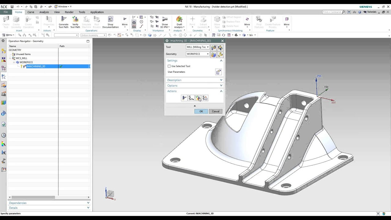 iMachining 3D for Siemens NX