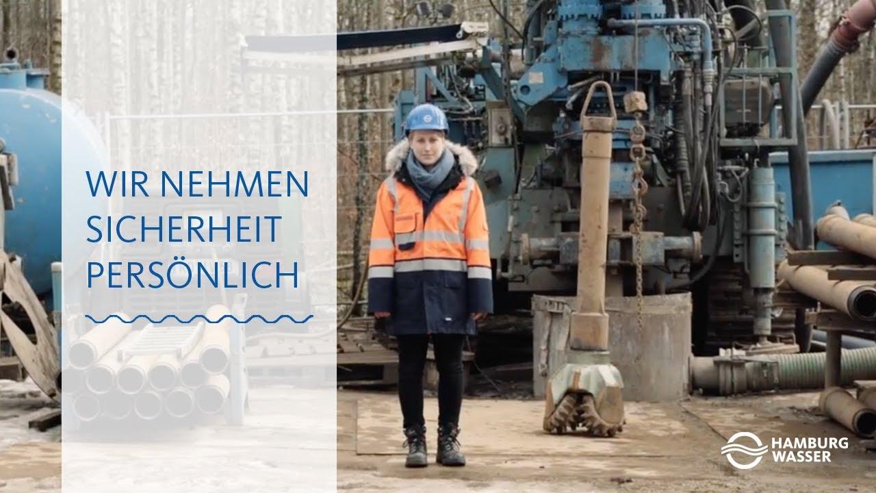 Lara Tholen Und Hamburgs Brunnen Wir Nehmen Sicherheit
