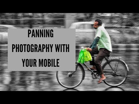 Panning With Your MOBILE !!