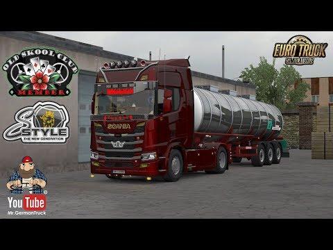[ETS2 v1.34] Scania S, R, XT Mega Mod + ALL DLC´s ready