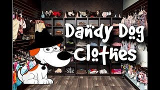 Dog Clothes and Costumes - Dandy Dog Clothes