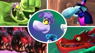 Rayman Legends - All Monster Chase Levels