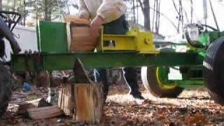 log splitter first run