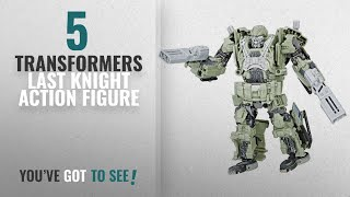Top 10 Transformers Last Knight Action Figure [2018]: Transformers: The Last Knight Premier Edition